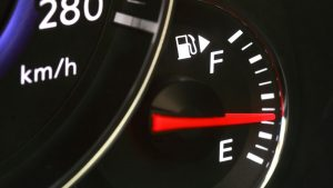 Why is my fuel gauge stuck on half