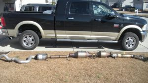 Can a truck run without a catalytic converter