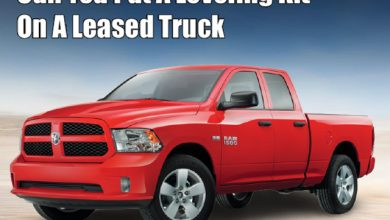 Photo of Can You Put a Leveling Kit on a Leased Truck