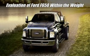 How Much Does Ford F650 Weight