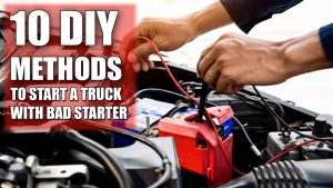 How to start my truck with a bad starter
